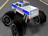 3D Police Monster Truck