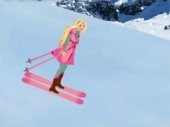 Barbie Skiing