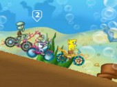 Bob Esponja Cycle Race