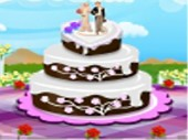 Classic Wedding Cake Decoration