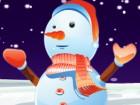 Cute Snowman Dress Up