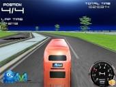 English Bus 3D Racing