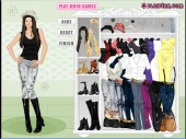 Fergie Dressup Game