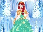 Ice Princess Wedding Dress
