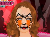 Katy Perry Cat Makeup