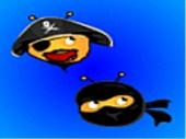 Pirates vs. Ninjas: Fupa Attack!