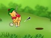 Pooh Bear and Golfer