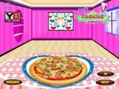 Smokey Pizza Decoration