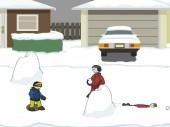 Snow blitz!