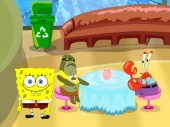 Spongebob Under Water Restaurant