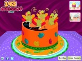 Thanksgiving Cake Decor