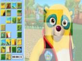 Yellow Bear Puzzle